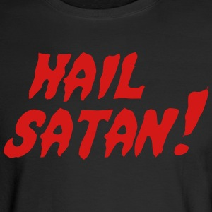 Hail Satan! Long Sleeve Shirts - Men's Long Sleeve T-Shirt
