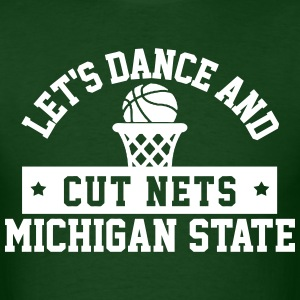 Dance & Cut Nets MSU T-Shirts - Men's T-Shirt