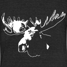 moose - elk - hunting - hunter T-Shirts
