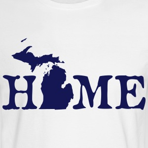 HOME - Michigan Long Sleeve Shirts - Men's Long Sleeve T-Shirt