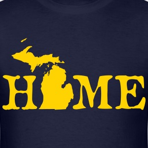 HOME - Michigan T-Shirts - Men's T-Shirt