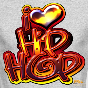 I LOVE HIP-HOP - Men's Long Sleeve T-Shirt by Next Level