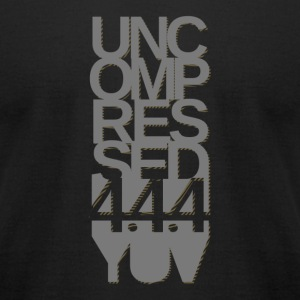 Uncompressed - Men's T-Shirt by American Apparel