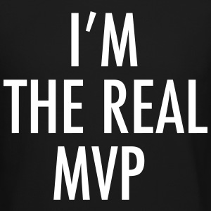 I'M THE REAL MVP Long Sleeve Shirts - Crewneck Sweatshirt