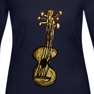 guitar  - Women's Long Sleeve Jersey T-Shirt