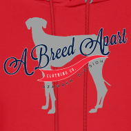 Design ~ A Breed Apart logo hoodie; Azawakh Division