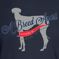 Design ~ A Breed Apart logo long sleeve T shirt; Azawakh Division