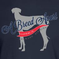 Design ~ A Breed Apart logo long sleeve T shirt; Azawakh Division