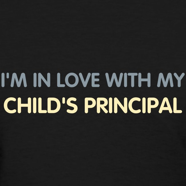BEST SELLER- I'm in love with my child's principal.