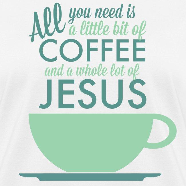 Little Coffee, Lots of Jesus