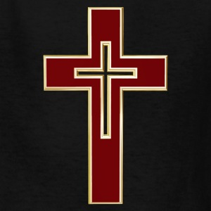 Red Christian cross Kids' Shirts - Kids' T-Shirt