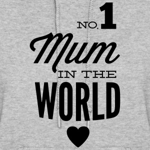 no1 mum of the world Hoodies - Women's Hoodie