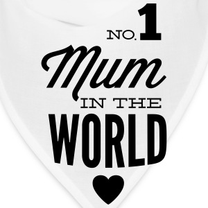 no1 mum of the world Caps - Bandana
