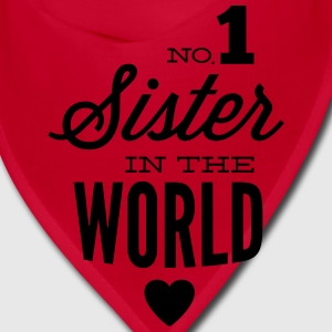 no1 sister of the world Caps - Bandana