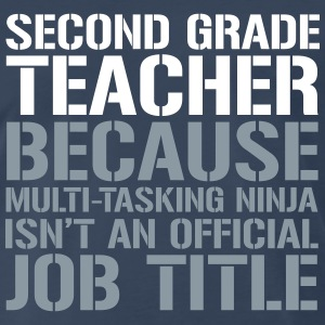 Ninja Second Grade - Teachers T-Shirts T-Shirts - Men's Premium T-Shirt