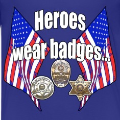 Heroes wear badges