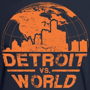 Detroit VS World Long Sleeve Shirts - Men's Long Sleeve T-Shirt