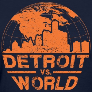 Detroit VS World Women's T-Shirts - Women's T-Shirt