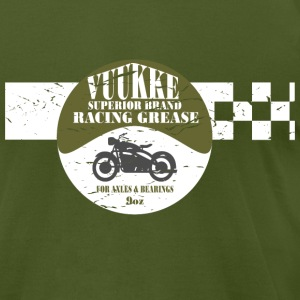 Motorcycle Racing T-Shirts - Men's T-Shirt by American Apparel
