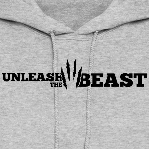 Unleash the Beast Bodybuilding Hoodies - Women's Hoodie