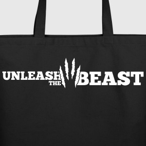 Unleash the Beast Bodybuilding Bags & backpacks - Eco-Friendly Cotton Tote