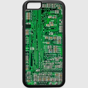 Circuit Board - Fullbleed Accessories - iPhone 6/6s Rubber Case