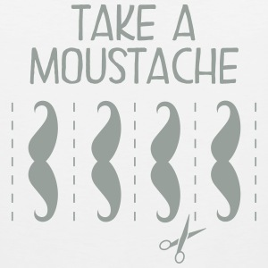 Take A Moustache Tank Tops - Men's Premium Tank