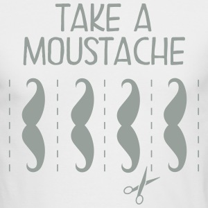 Take A Moustache Long Sleeve Shirts - Men's Long Sleeve T-Shirt by Next Level
