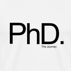 The PhD - The Journey - Mens (White)