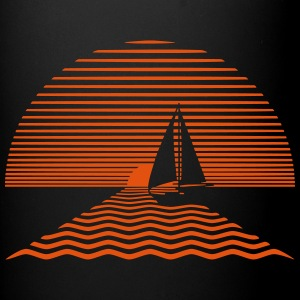 Sunset Sailboat Accessories - Full Color Mug