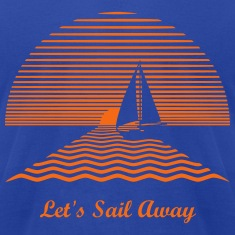 Sunset Sailboat T-Shirts