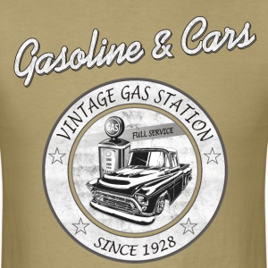Vintage Gasoline & Cars T-Shirts - Men's T-Shirt
