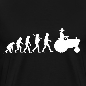 Evolution Farmer T-Shirts - Men's Premium T-Shirt