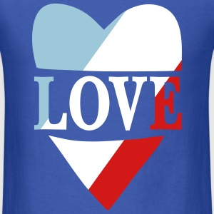 Love France T-Shirts - Men's T-Shirt