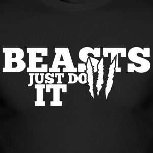 Beasts just do it Long Sleeve Shirts - Men's Long Sleeve T-Shirt by Next Level