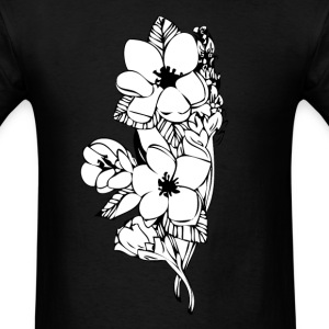 flower tee - Men's T-Shirt