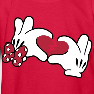 Mickey Broken Heart 2 Kids' Shirts - Kids' Long Sleeve T-Shirt