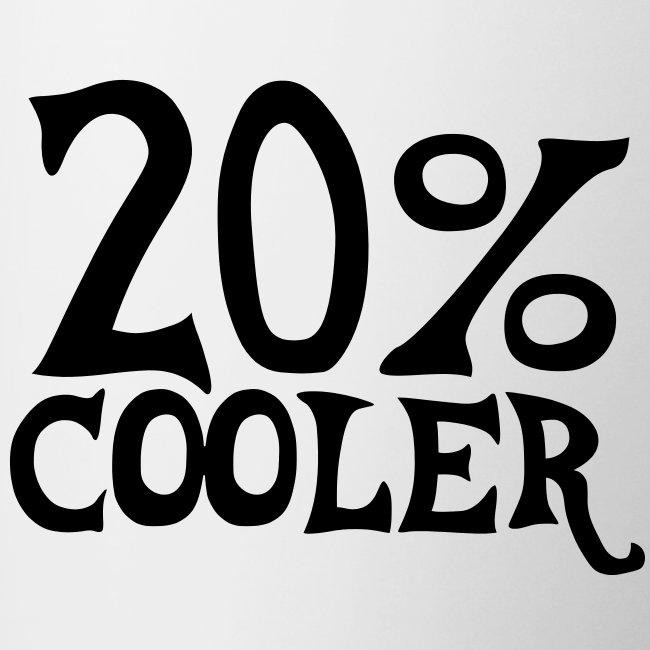 20% cooler mug
