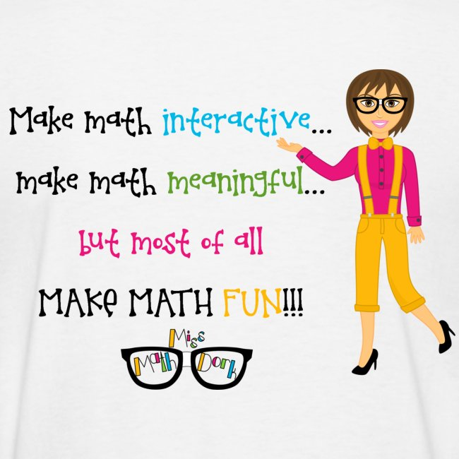 Make math... (for light shirts)