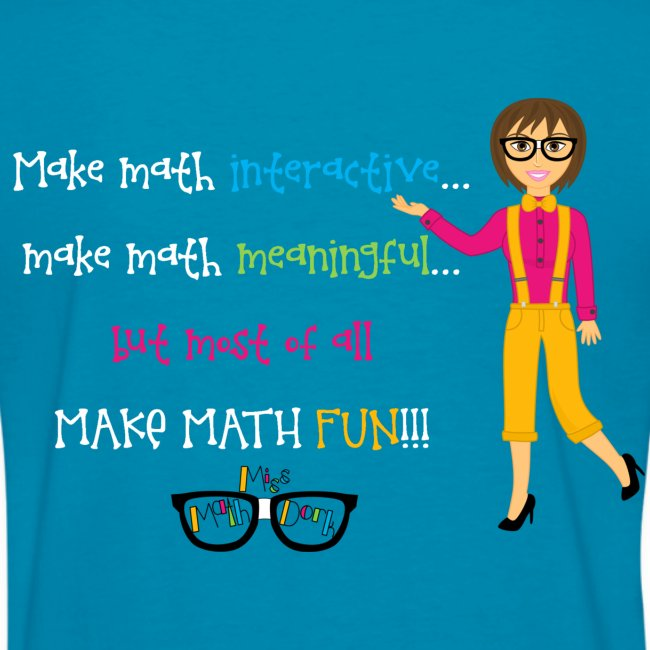 Make math... (for dark shirts)
