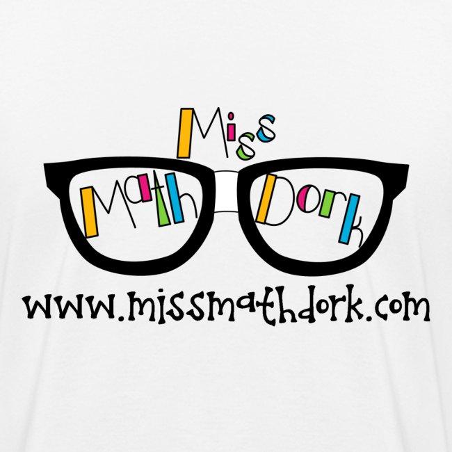 MissMathDork logo tee