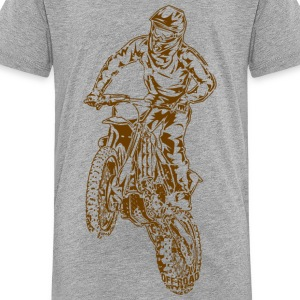 Motocross Dirt Bike Jump Kids' Shirts - Kids' Premium T-Shirt