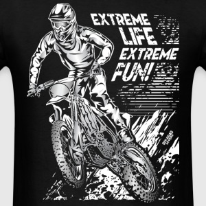 Motocross Extreme Fun T-Shirts - Men's T-Shirt