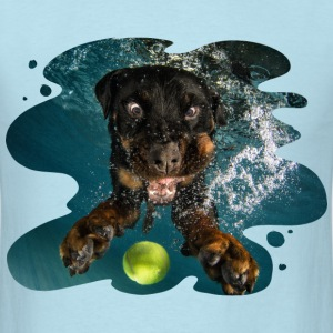 Underwater Dogs Milo by Seth Casteel T-Shirts - Men's T-Shirt