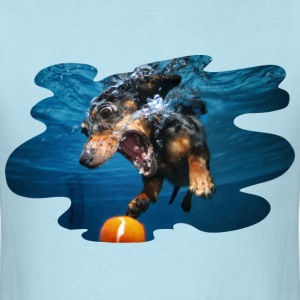 Underwater Dogs Rhoda by Seth Casteel T-Shirts - Men's T-Shirt