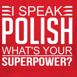 Polish Superpower Hoodies - Women's Hoodie