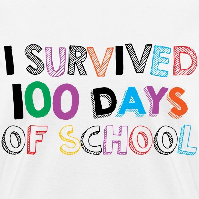 I survived 100 days of school