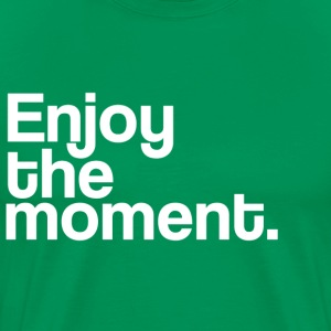 Enjoy the moment - Men's Premium T-Shirt