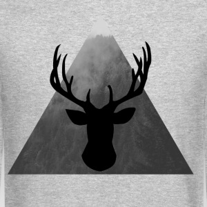 Deer Long Sleeve Shirts - Crewneck Sweatshirt