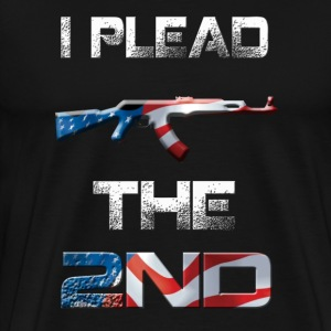 I Plead The 2nd T-Shirts - Men's Premium T-Shirt